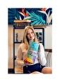 home-bath Çift Kişilik Nevresim Ve Duvar Örtüsü Seti-Motion Renkli